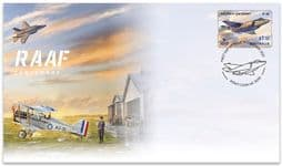 09/02/2021 Australia FDC Royal Australian Air Force Centenary $1.10 self-adhesive from roll